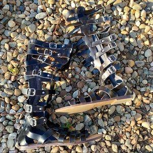 Madden Girl Penna Gladiator Sandal